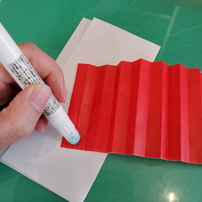 折り紙のろうそく 立体的な折り方作り方【画像】①土台1(14)