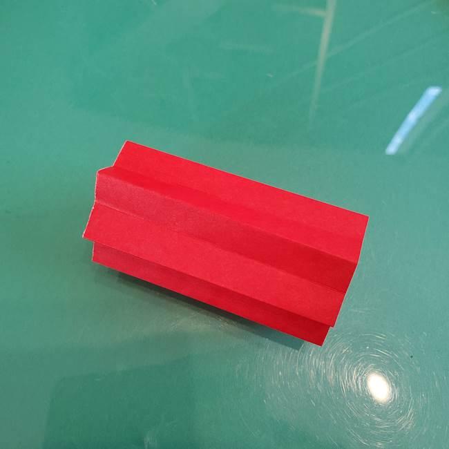 折り紙のろうそく 立体的な折り方作り方【画像】①土台1(17)