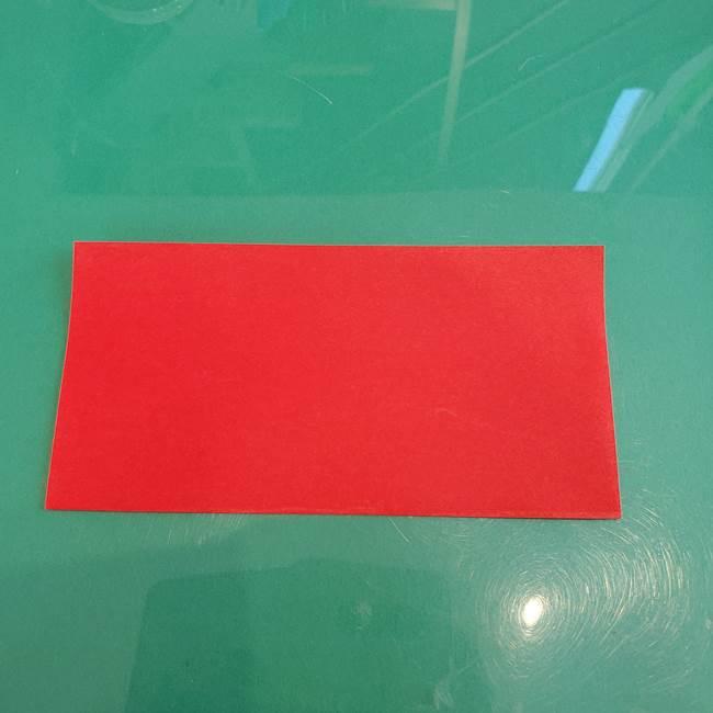 折り紙のろうそく 立体的な折り方作り方【画像】①土台1(2)