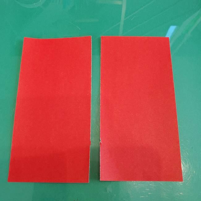 折り紙のろうそく 立体的な折り方作り方【画像】①土台1(3)