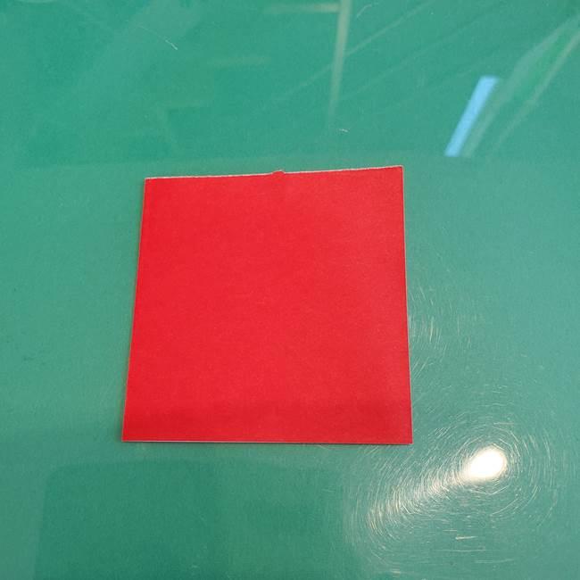 折り紙のろうそく 立体的な折り方作り方【画像】①土台1(5)