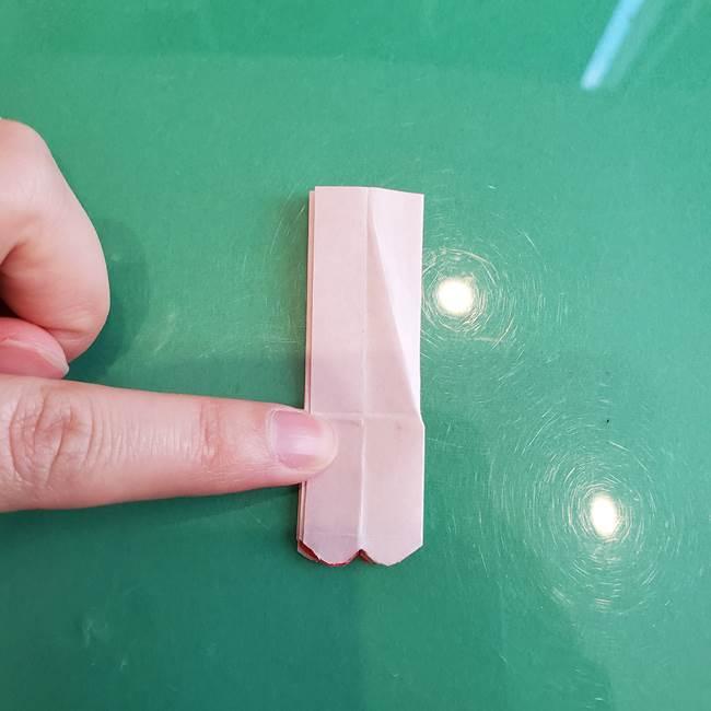 折り紙のろうそく 立体的な折り方作り方【画像】②土台2(25)