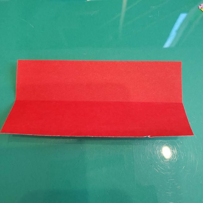 折り紙のろうそく 立体的な折り方作り方【画像】②土台2(3)