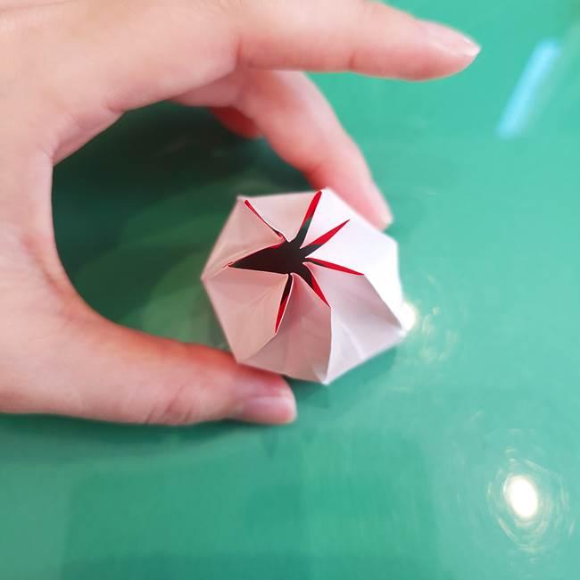 折り紙のろうそく 立体的な折り方作り方【画像】②土台2(32)