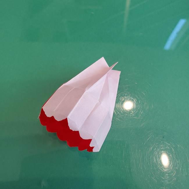 折り紙のろうそく 立体的な折り方作り方【画像】②土台2(33)