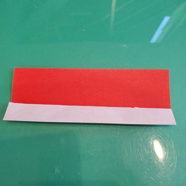 折り紙のろうそく 立体的な折り方作り方【画像】②土台2(4)