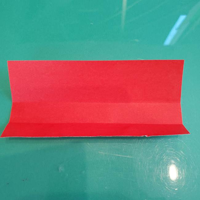 折り紙のろうそく 立体的な折り方作り方【画像】②土台2(5)