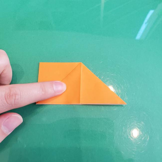折り紙のろうそく 立体的な折り方作り方【画像】③炎(10)