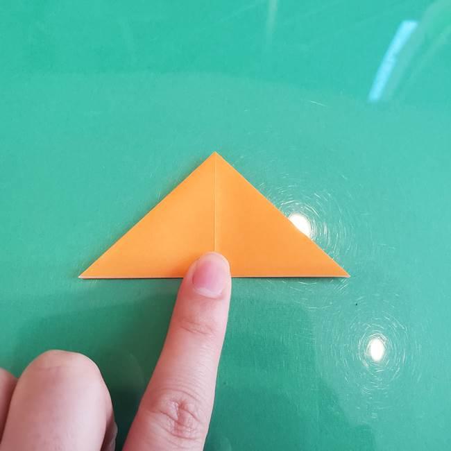 折り紙のろうそく 立体的な折り方作り方【画像】③炎(11)