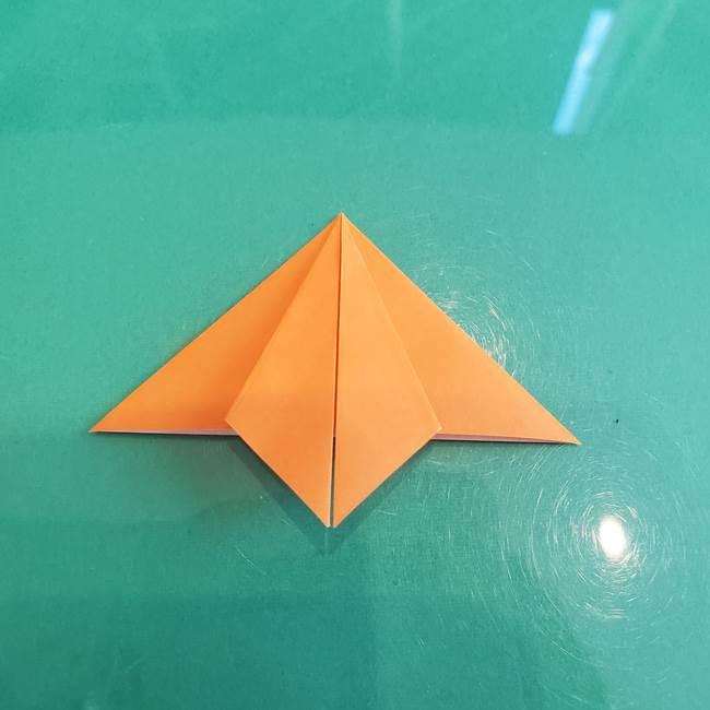 折り紙のろうそく 立体的な折り方作り方【画像】③炎(12)
