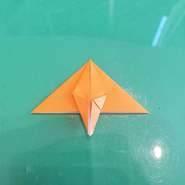 折り紙のろうそく 立体的な折り方作り方【画像】③炎(13)