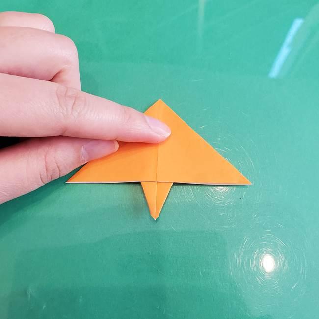 折り紙のろうそく 立体的な折り方作り方【画像】③炎(14)