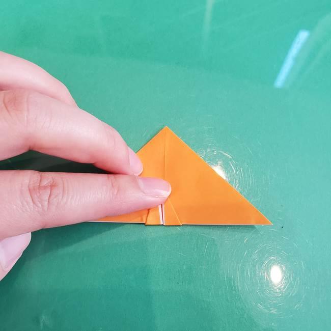 折り紙のろうそく 立体的な折り方作り方【画像】③炎(15)