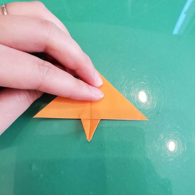 折り紙のろうそく 立体的な折り方作り方【画像】③炎(16)