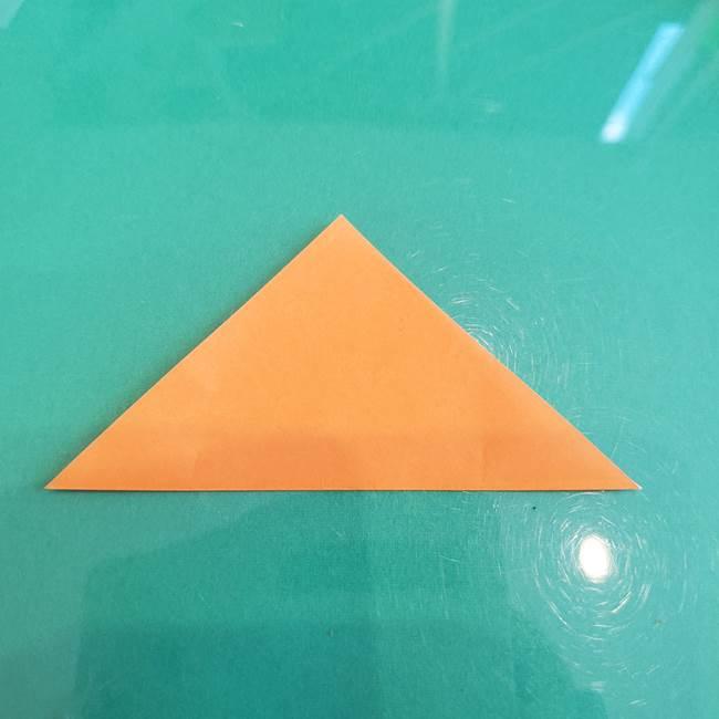折り紙のろうそく 立体的な折り方作り方【画像】③炎(3)
