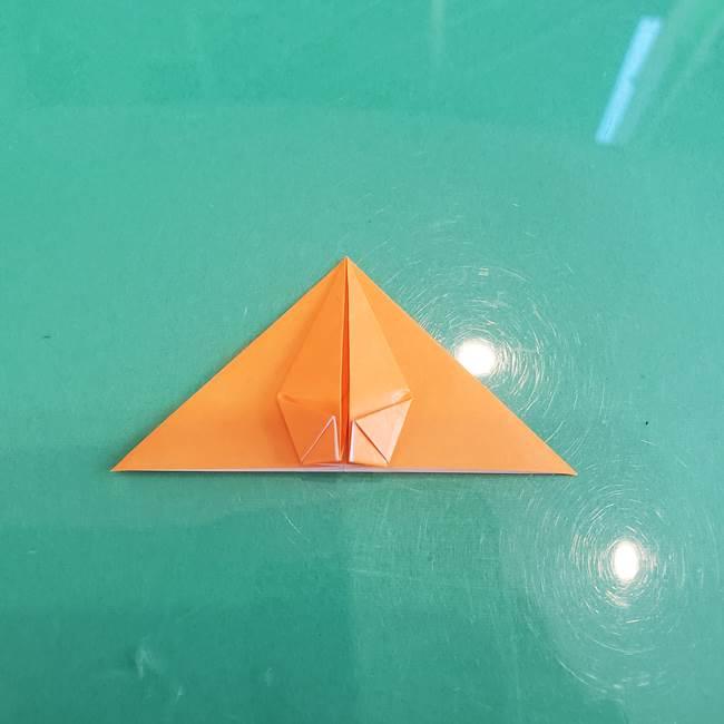 折り紙のろうそく 立体的な折り方作り方【画像】③炎(20)