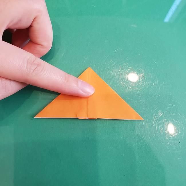 折り紙のろうそく 立体的な折り方作り方【画像】③炎(21)