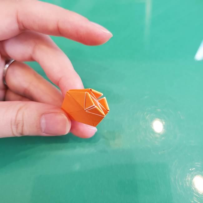 折り紙のろうそく 立体的な折り方作り方【画像】③炎(23)