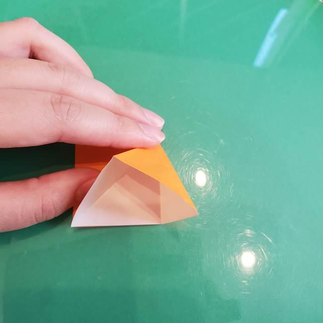 折り紙のろうそく 立体的な折り方作り方【画像】③炎(9)