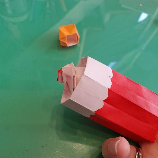 折り紙のろうそく 立体的な折り方作り方【画像】④完成(10)