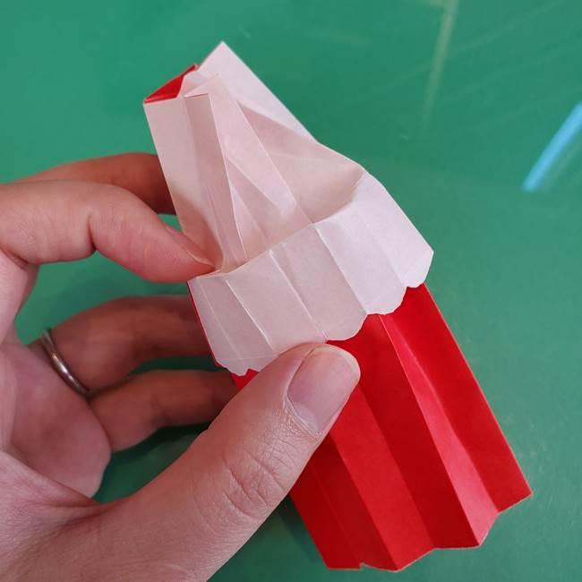 折り紙のろうそく 立体的な折り方作り方【画像】④完成(5)