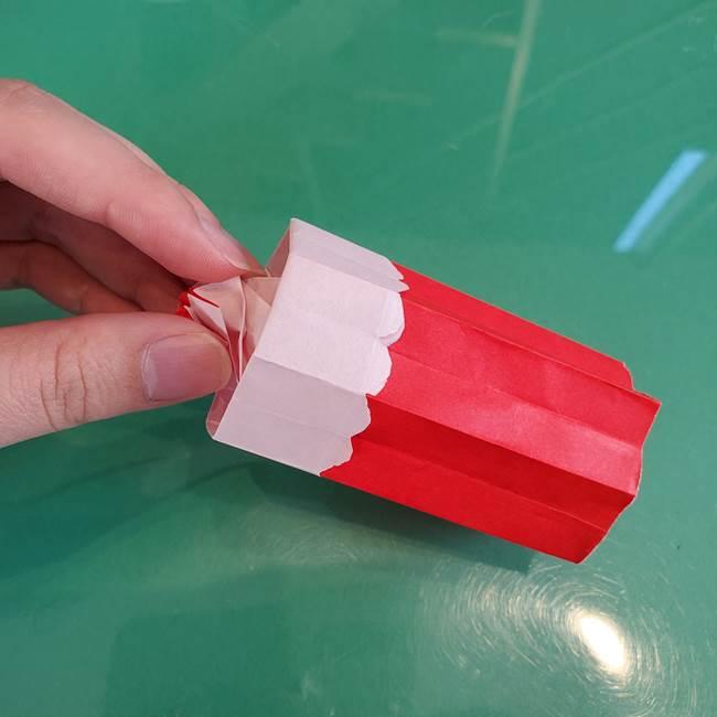 折り紙のろうそく 立体的な折り方作り方【画像】④完成(9)