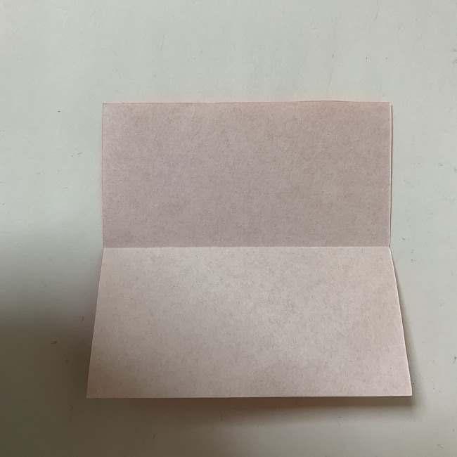 折り紙ディズニーのミッキー&ミニーのリボンの折り方・作り方【ツムツム】 (1)