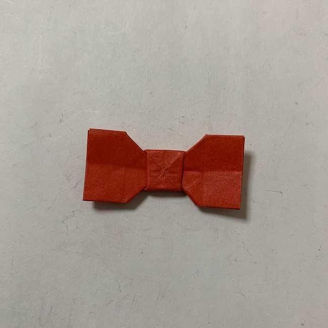 折り紙ディズニーのミッキー&ミニーのリボンの折り方・作り方【ツムツム】 (24)