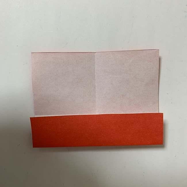 折り紙ディズニーのミッキー&ミニーのリボンの折り方・作り方【ツムツム】 (3)