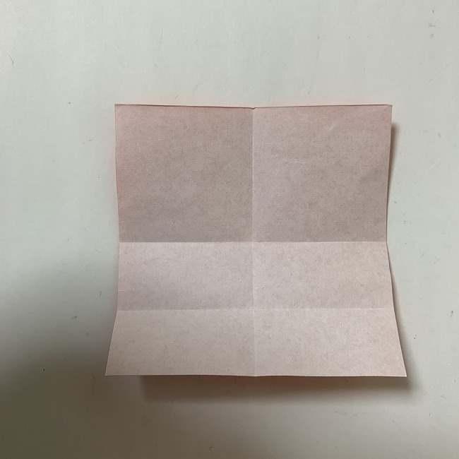 折り紙ディズニーのミッキー&ミニーのリボンの折り方・作り方【ツムツム】 (4)