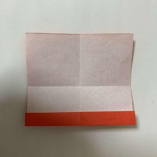 折り紙ディズニーのミッキー&ミニーのリボンの折り方・作り方【ツムツム】 (5)