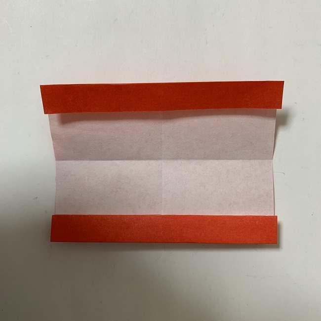 折り紙ディズニーのミッキー&ミニーのリボンの折り方・作り方【ツムツム】 (6)