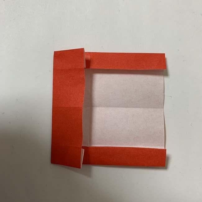 折り紙ディズニーのミッキー&ミニーのリボンの折り方・作り方【ツムツム】 (7)