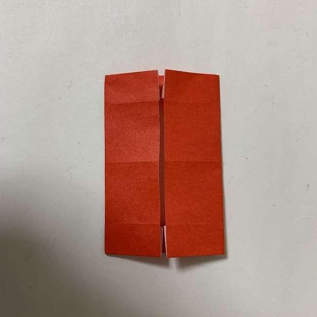 折り紙ディズニーのミッキー&ミニーのリボンの折り方・作り方【ツムツム】 (8)