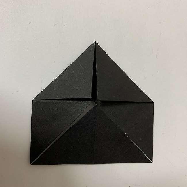 折り紙ディズニーのミッキー&ミニーの折り方・作り方【ツムツム】 (16)