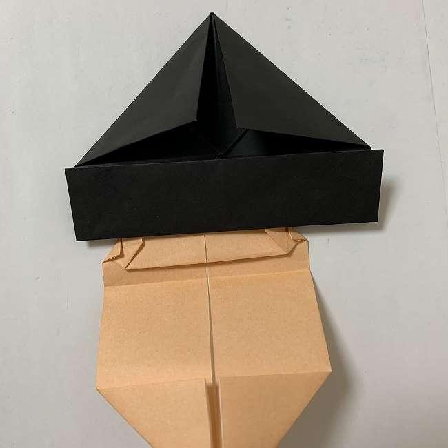 折り紙ディズニーのミッキー&ミニーの折り方・作り方【ツムツム】 (18)