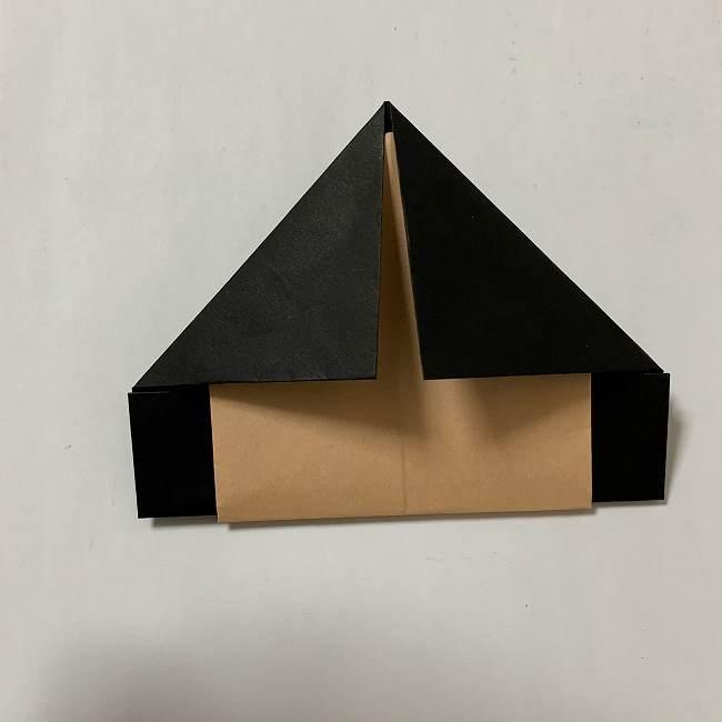 折り紙ディズニーのミッキー&ミニーの折り方・作り方【ツムツム】 (19)