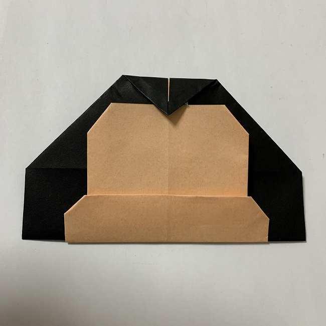 折り紙ディズニーのミッキー&ミニーの折り方・作り方【ツムツム】 (22)
