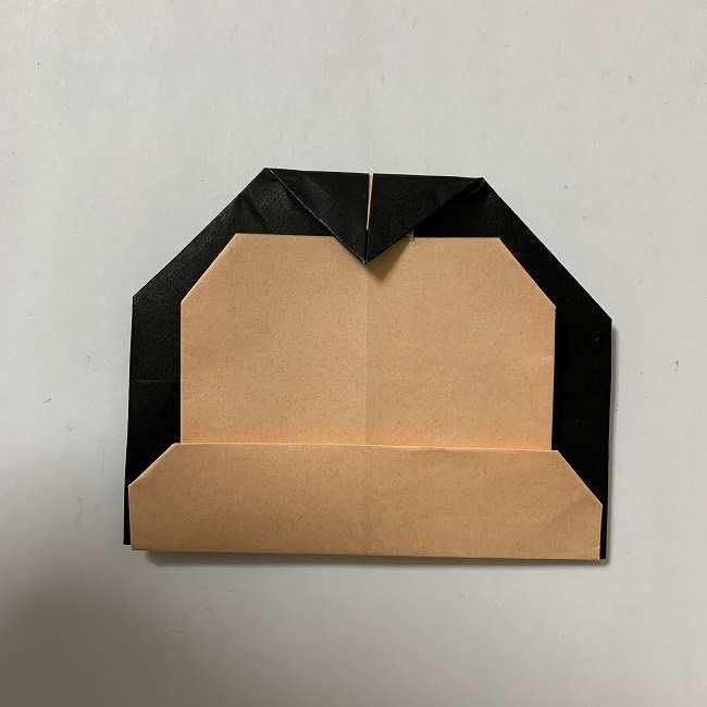 折り紙ディズニーのミッキー&ミニーの折り方・作り方【ツムツム】 (23)