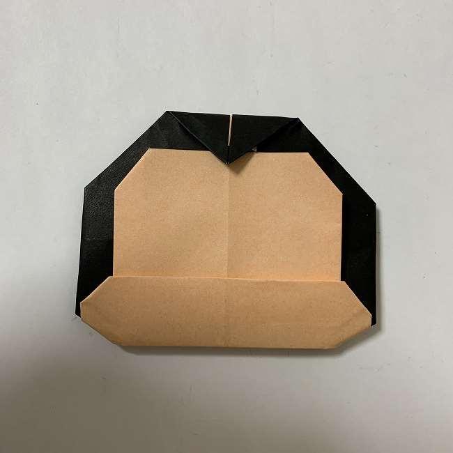 折り紙ディズニーのミッキー&ミニーの折り方・作り方【ツムツム】 (24)