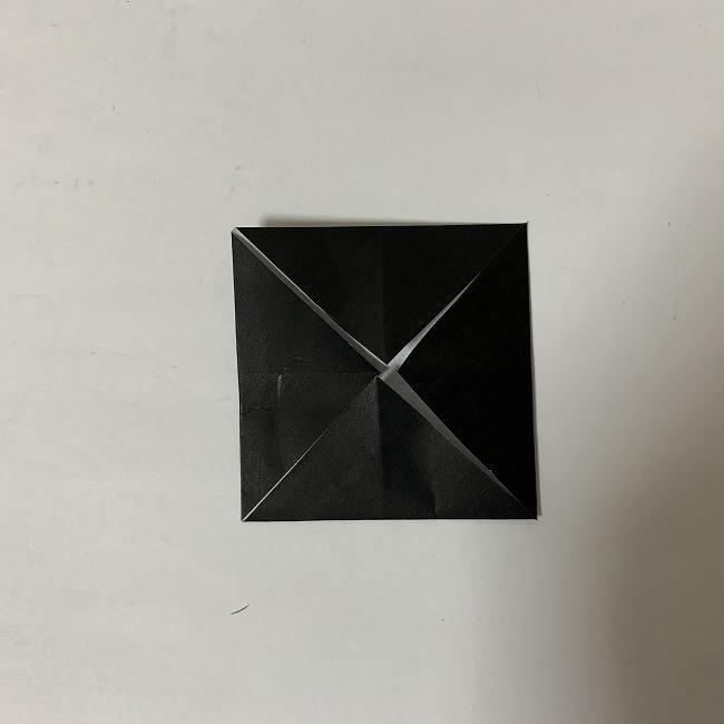 折り紙ディズニーのミッキー&ミニーの折り方・作り方【ツムツム】 (27)