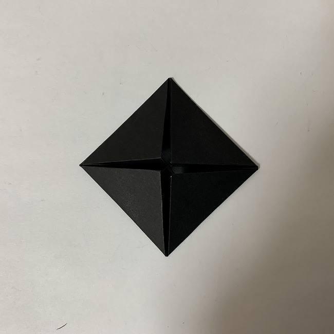 折り紙ディズニーのミッキー&ミニーの折り方・作り方【ツムツム】 (28)