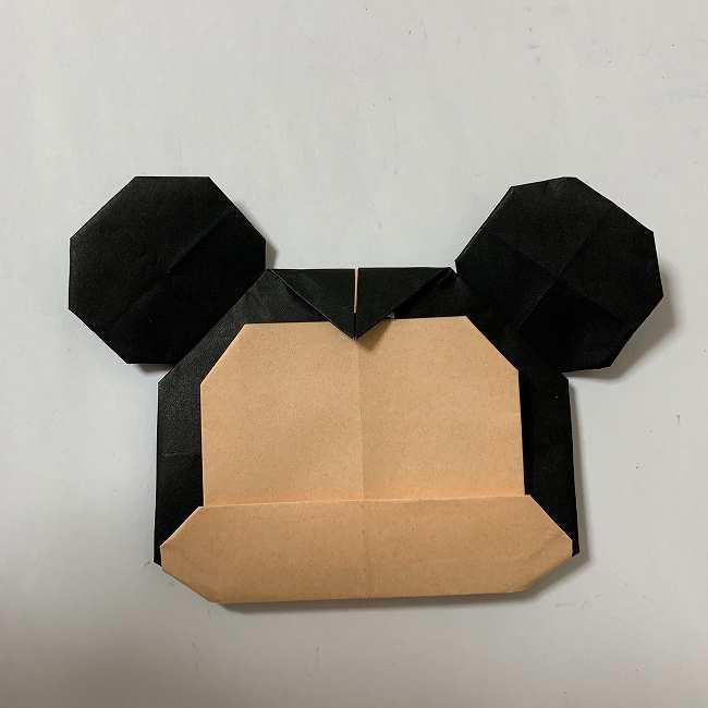 折り紙ディズニーのミッキー&ミニーの折り方・作り方【ツムツム】 (30)