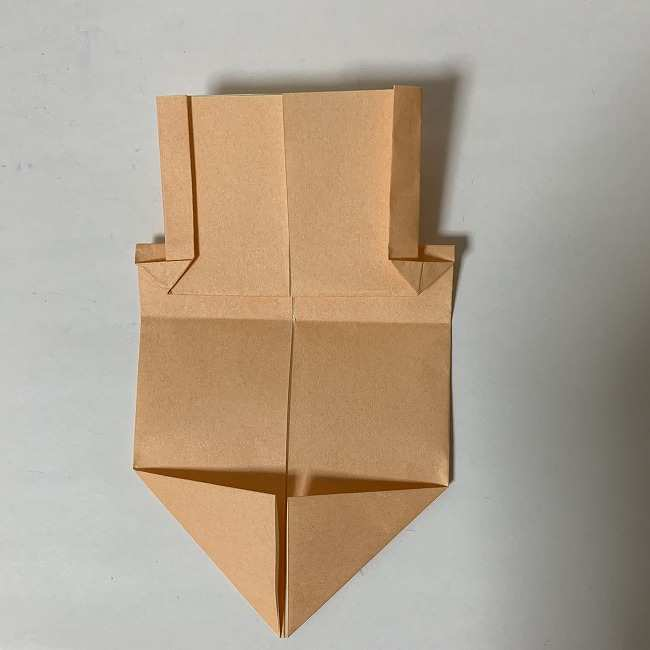 折り紙ディズニーのミッキー&ミニーの折り方・作り方【ツムツム】 (9)