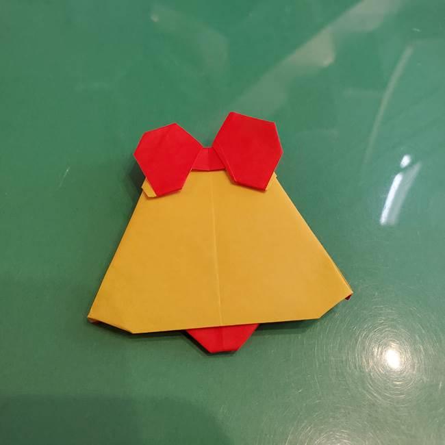 折り紙 クリスマスベルとリボンの折り方★一枚で全部できる作り方を動画付きで紹介!