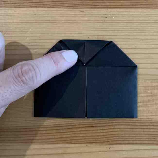 折り紙 ディズニーのミッキー&ミニーの折り方・作り方 (11)