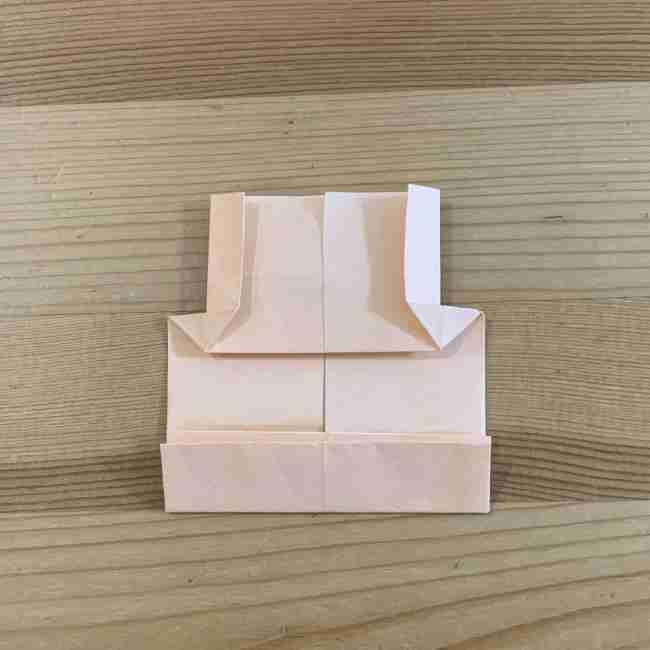 折り紙 ディズニーのミッキー&ミニーの折り方・作り方 (20)