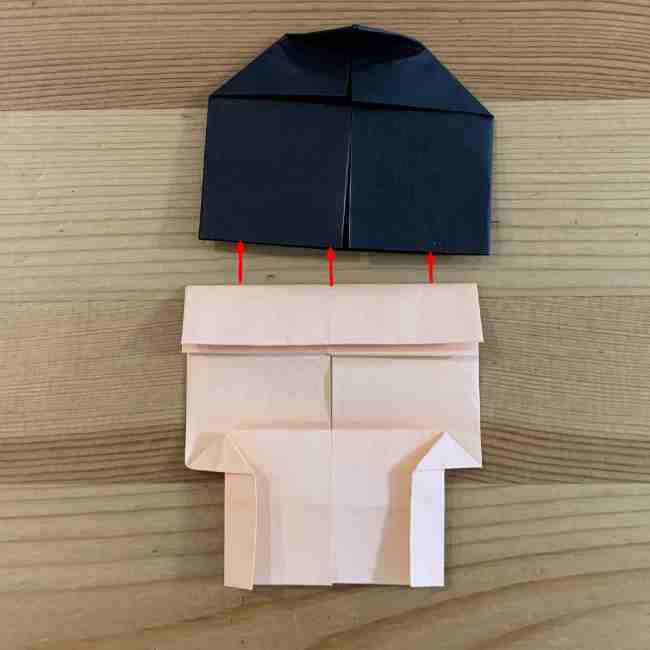 折り紙 ディズニーのミッキー&ミニーの折り方・作り方 (21)