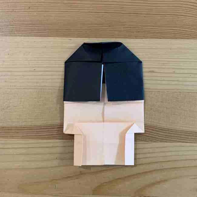 折り紙 ディズニーのミッキー&ミニーの折り方・作り方 (22)