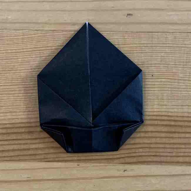 折り紙 ディズニーのミッキー&ミニーの折り方・作り方 (5)